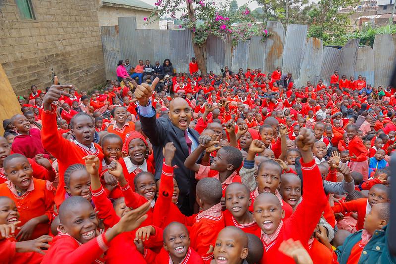 KCB Donation- Kenya